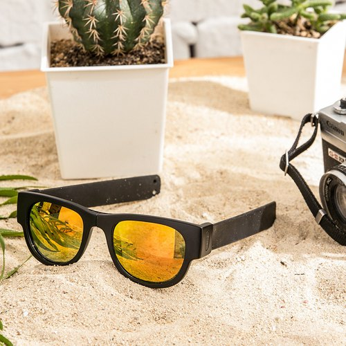 New Zealand Slapsee Pro polarized sunglasses - black jazz