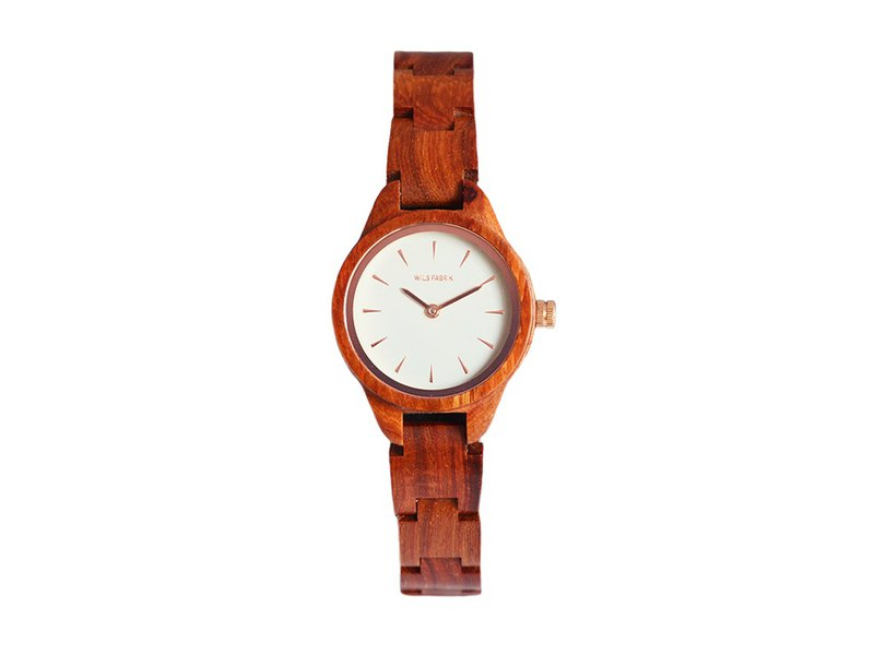 WILS FABRIK - Extrovery - Red Sandalwood Watch