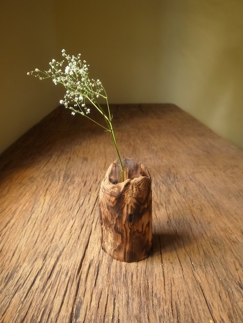 Spring buds - small tube is cypress wood shavings # 4