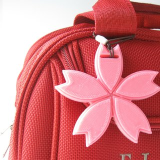Personalized 3D Sakura (Cherry Blossom) Luggage Tag, Bag Tag, Travel Accessory
