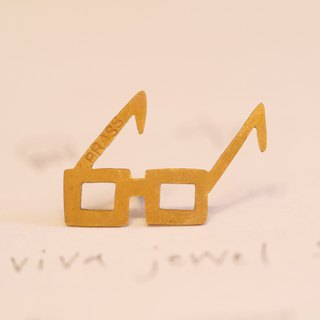 Glasses pins material Brass