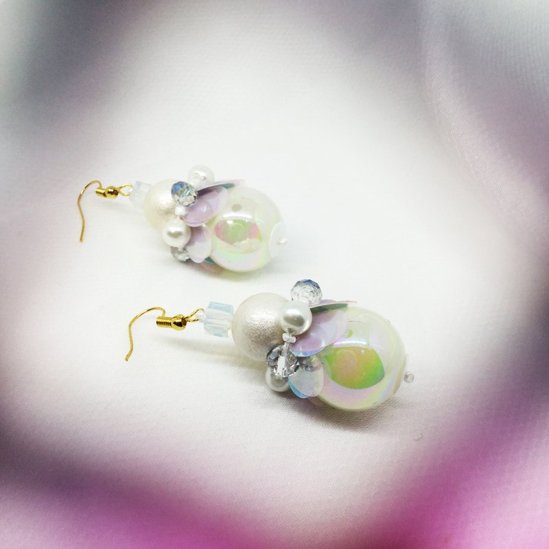 Witch 's Letter to Little Nymph (ear - styled earrings) drape classic