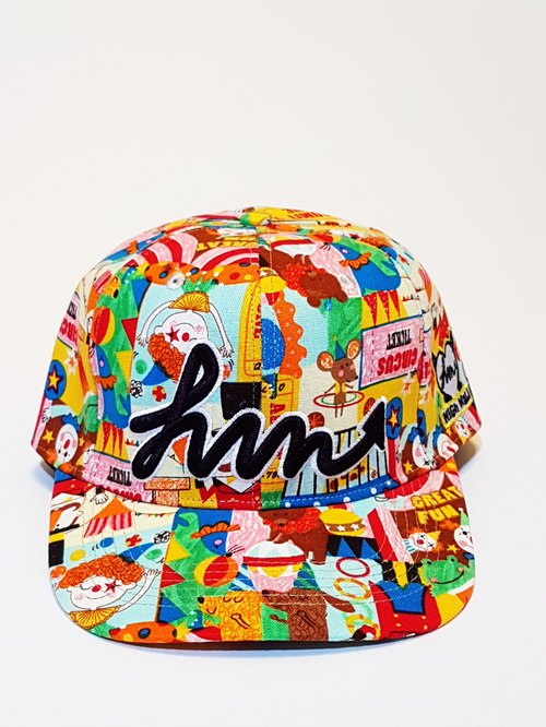 Embroidery printing baseball cap - Childhood circus # # Old hat cap # Four Seasons essential section # Wind # warm # shade