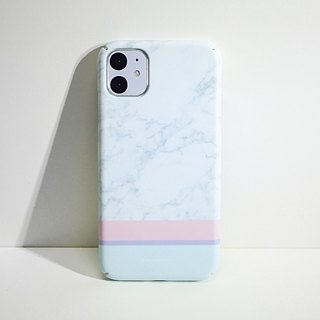 GRAPHIC PRINT - CURIOUS MARBLE MATTE iPhone Case