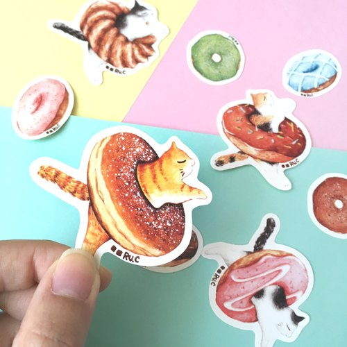 ★ kitty stickers Donuts