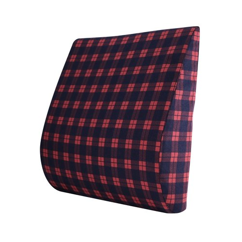 <England plaid> comfortable waist pillow breathable comfortable office OL long seat waist waist pad car cushions apply [Prodigy wave giant]