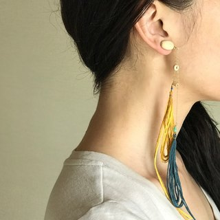 Wind  1 piece clip-on earrings