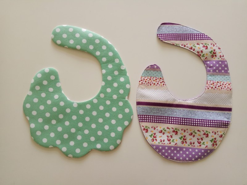 <Discount group> baby bib pocket two sets