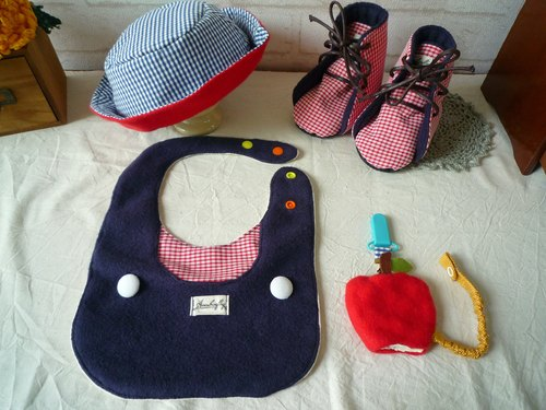 British style cute toddler shoes births ceremony Kits