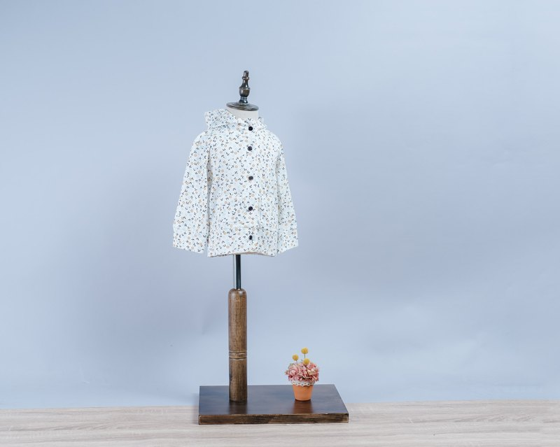 Hooded Jackets - Small Petals Handmade Nontoxic Coat Kidswear