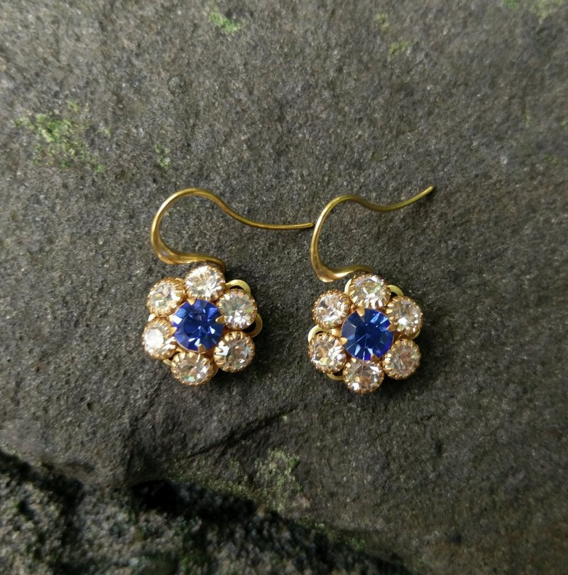 Swarovski Flower Earrings
