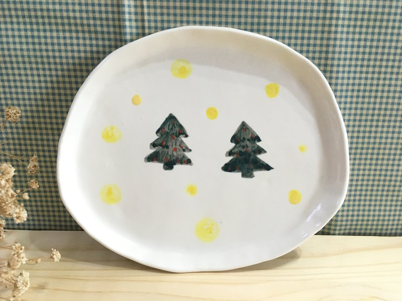 Christmas Series Christmas tree pottery