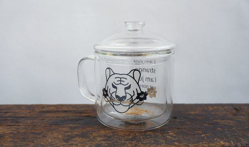 GLUE Tiger Dali famous double-layer insulation / heat-resistant glass / tea cup / coffee cup