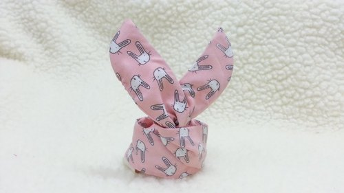 Pink rabbit BABY aluminum hair band [KH180222]