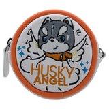 Sigema X Husky x 3 Coins Bag 哈士奇 刺繡零錢包 收納包