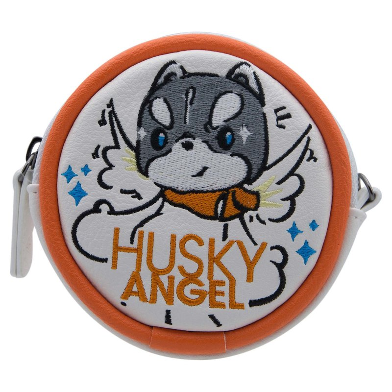 Sigema X Husky x 3 Coins Bag Ranger embroidery purse admission package