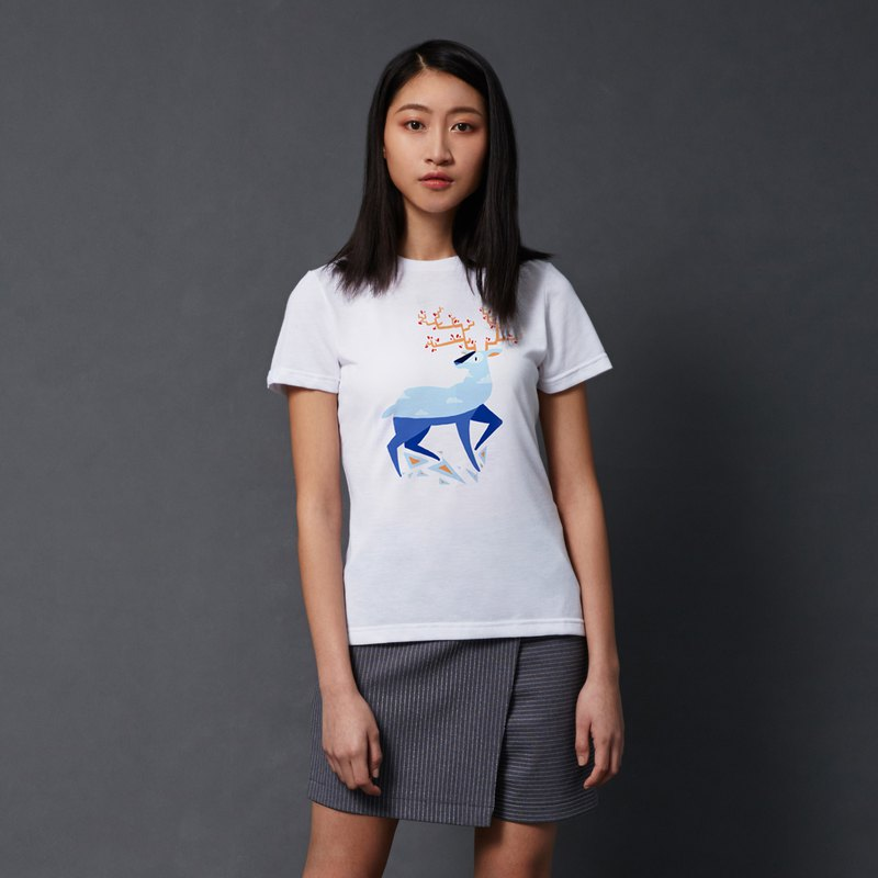 "Women TCool ""White Deer"" LNA T-Shirt"