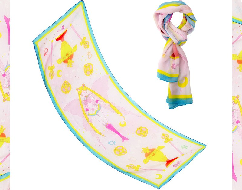 Super Sailormoon silk scarf