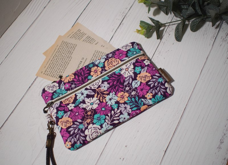 Pick up light series mobile phone bag / coin purse / limited manual bag / purple fragrant sea / stock in