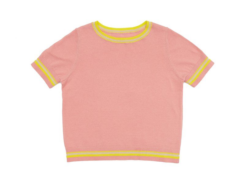 ROLY PONY Pink Short Sleeve Top