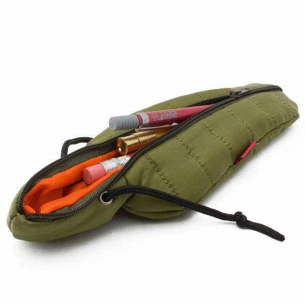 SUSS-Japan Magnets outdoor sleeping bag style storage bag / pencil box / pencil case (green)-gift recommended