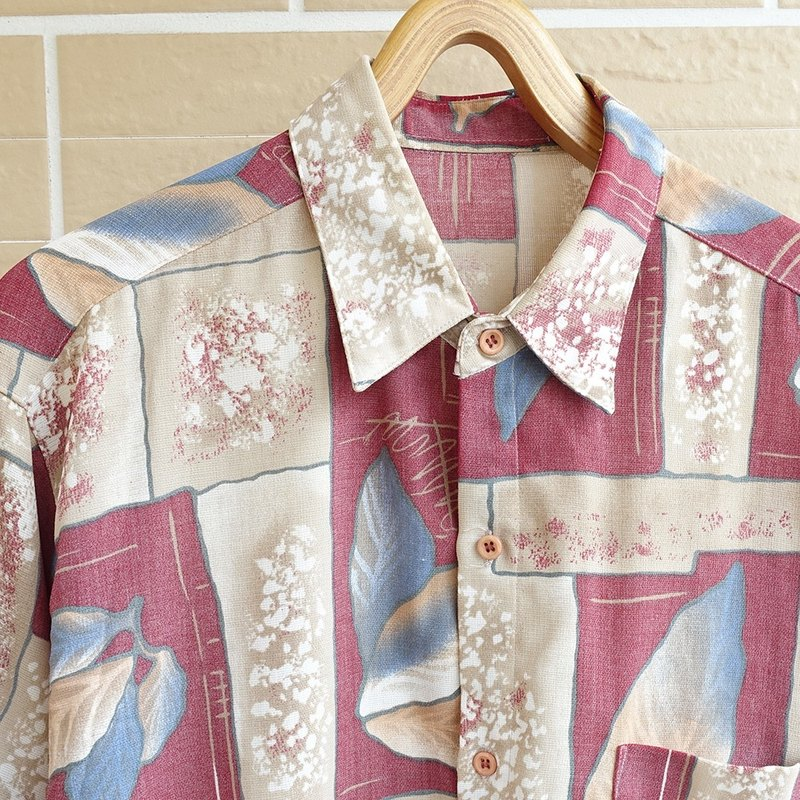 │Slowly │ autumn and deep - ancient shirt │ vintage. Retro