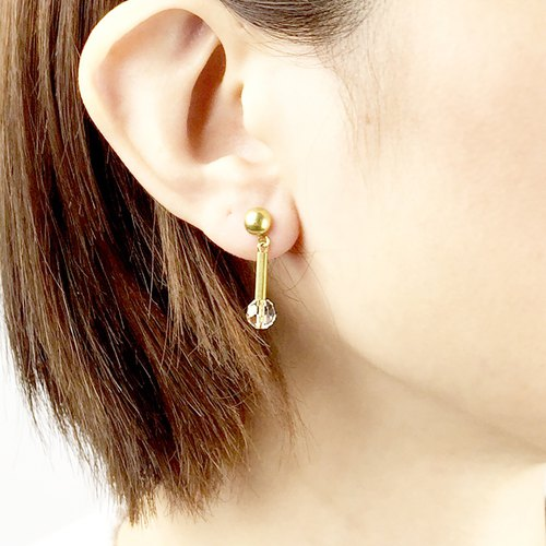 Small Department Earrings #11