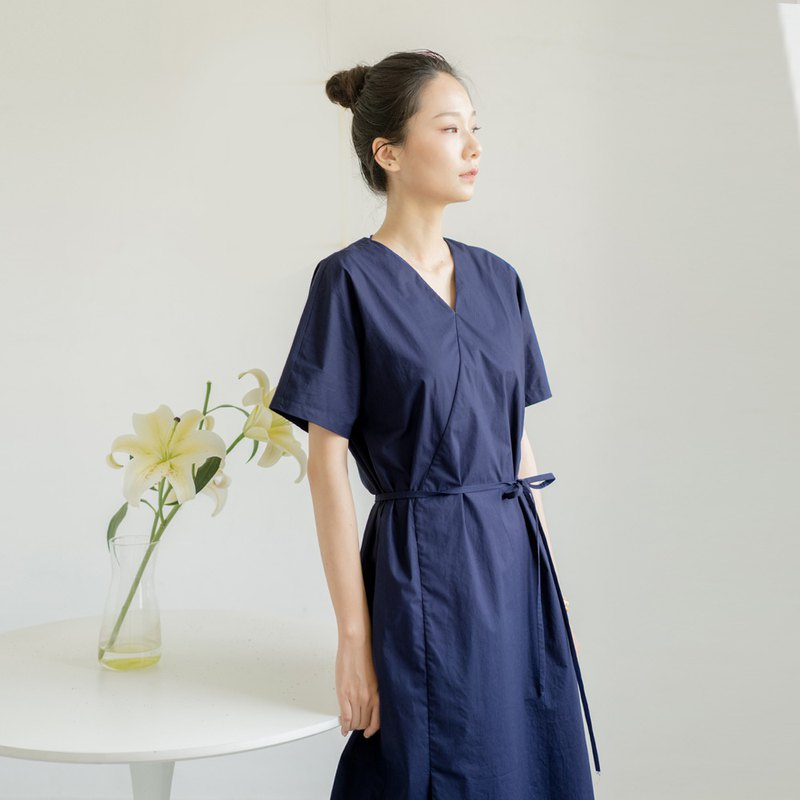 BUFU navy dress D190388