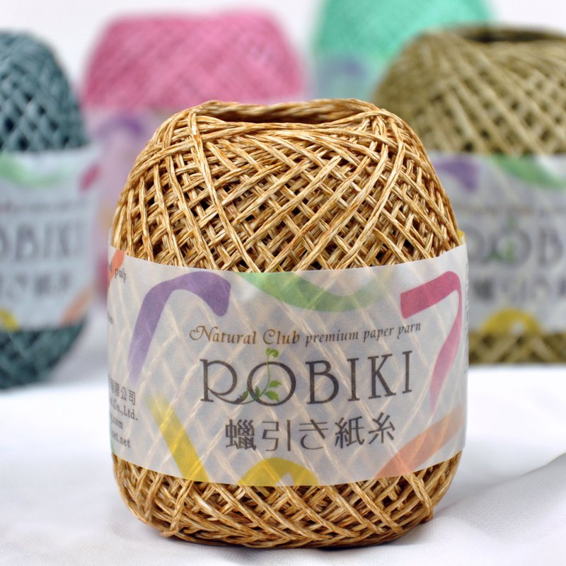 ROBIKI hand hook wax paper thread -75 meters paper line / manual / DIY material