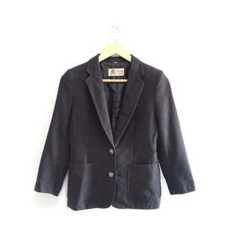 │Slowly│Wool suit - vintage jacket │vintage. Retro. Literature. Made in Japan