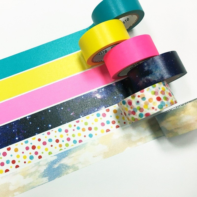 maste Outdoor me Aroma Masking Tape【6 Types / Set】