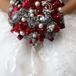 Ying Luo Manor*hand-made jewelry bouquet*set for * wedding bouquet ~ ~ jewelry bouquet ~ ~ ~ NO.167
