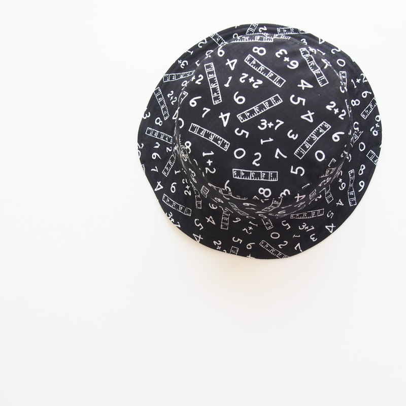 Blackboard - Handmade Bucket Hat | Double sided