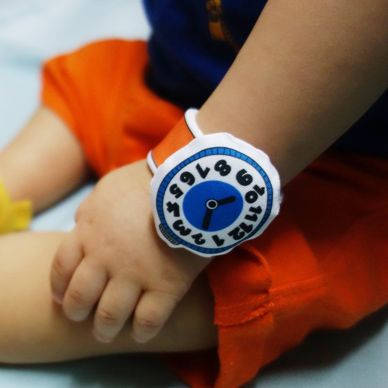 My First Watch Fabric Baby Watch (C02A02)