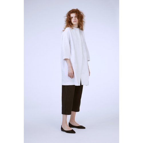 1702D0513 (plain long coat)