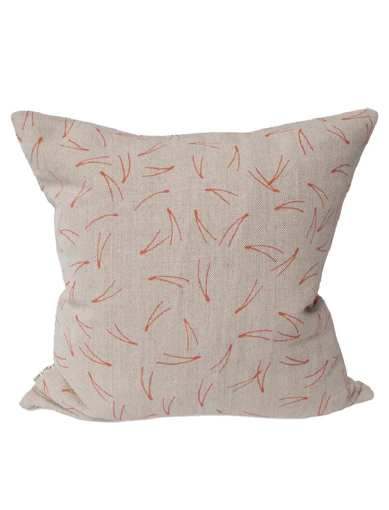 Nordic style designer - pillowcase BARR CUSHION COVER, CORAL