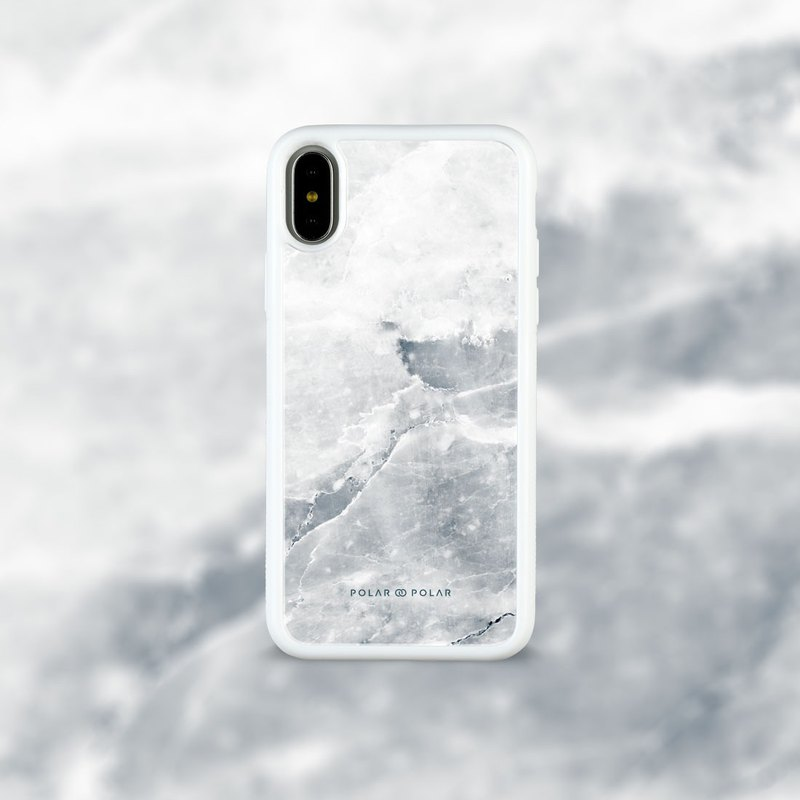 Polar Polar Icy iPhone Tempered Glass Case