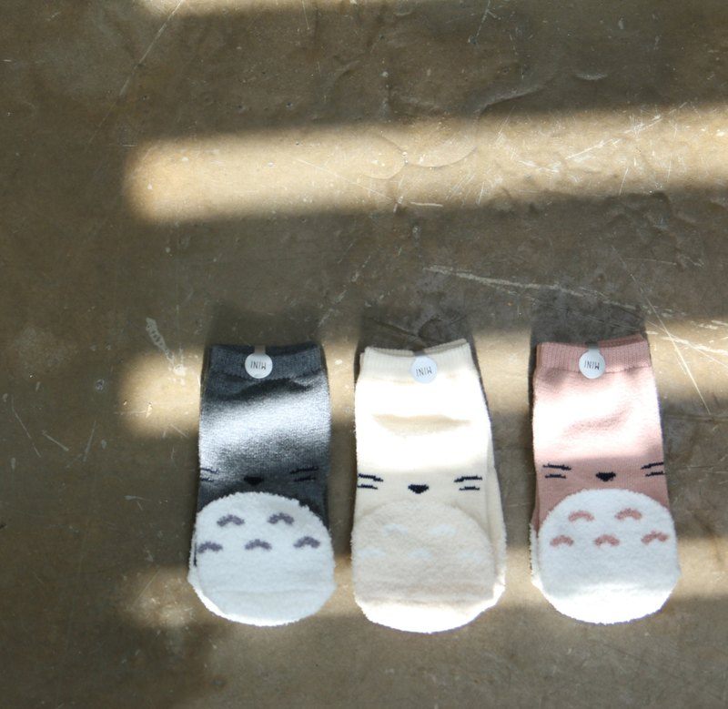 [Korean] Mi Star MiniDressing- (three-piece) Totoro children's elastic slip socks