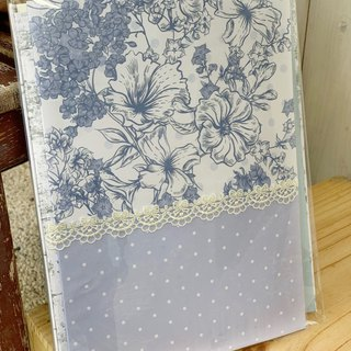 [Good day hand made] Hannah Zheng romantic garden hand-sewn book