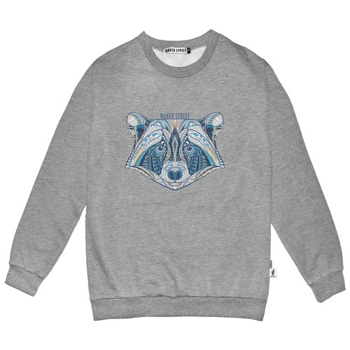 British Fashion Brand -Baker Street- Zentangle Coon Printed Sweater