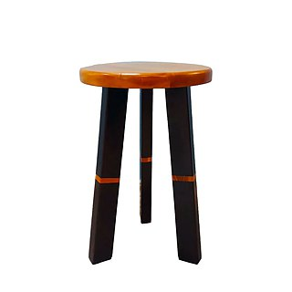 Trixibumi teak wood stool