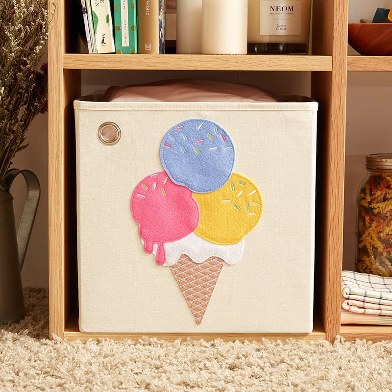 Blueberry Ice Cream - Toy Storage Box