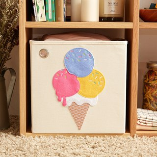 US Kaikai & Ash Toy Storage Box - Blueberry Ice Cream