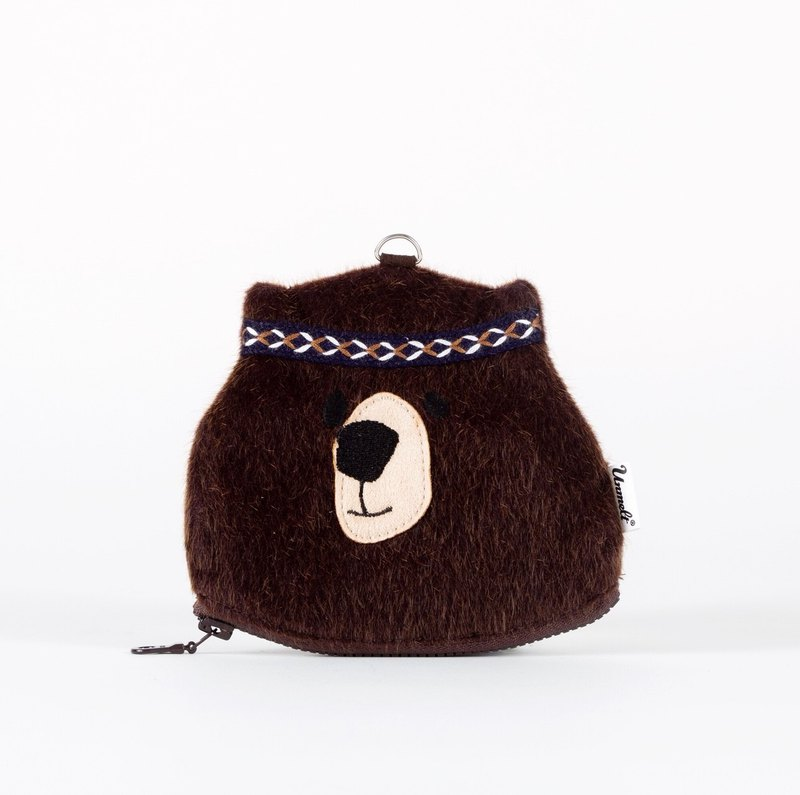 Brown Bear Purse