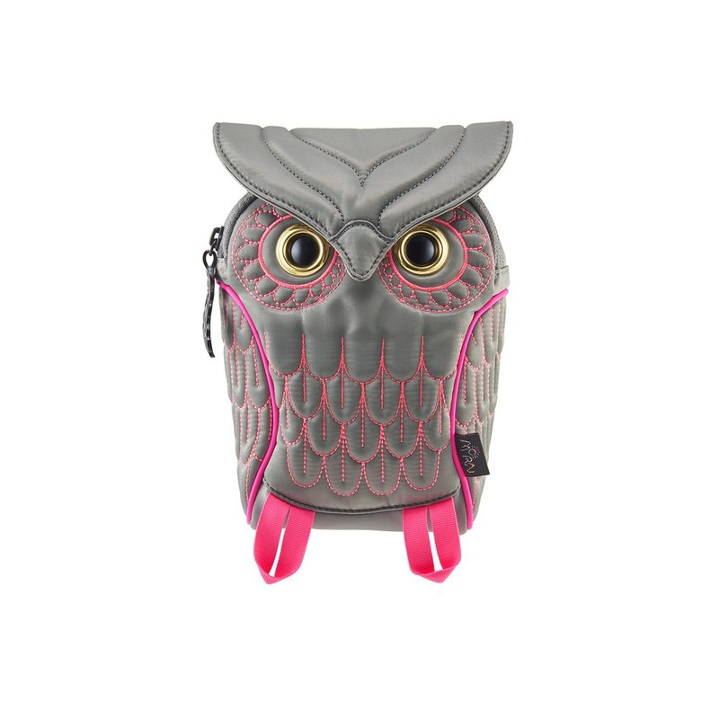 Morn Creations genuine owl pockets - Gray (OW-304-GY)