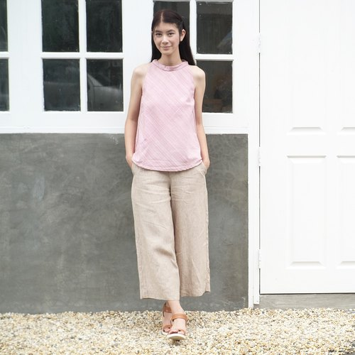 Zen Garden #1 / Linen Culottes Natural Color