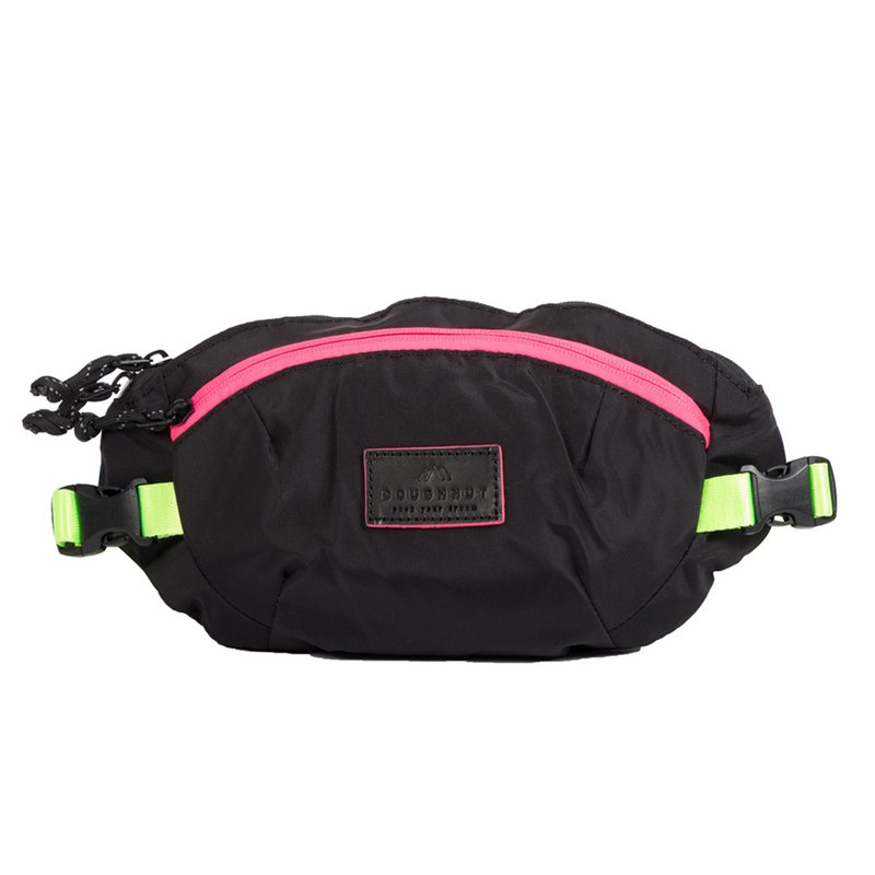 Doughnut Yao Aining's One Shoulder Waist Bag - Black Light