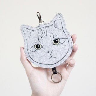Cat Series - Wool Felt Key Holders Key sets/Key sets <American Shorthair> gogoro sets