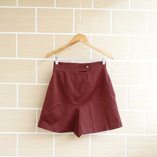 │Slowly │ retro red - ancient wool pants │ vintage. Retro