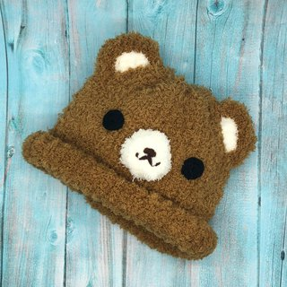 Caramel Bear - Wool Knit Baby Woolen Hat Miyue Gifts Christmas Gifts